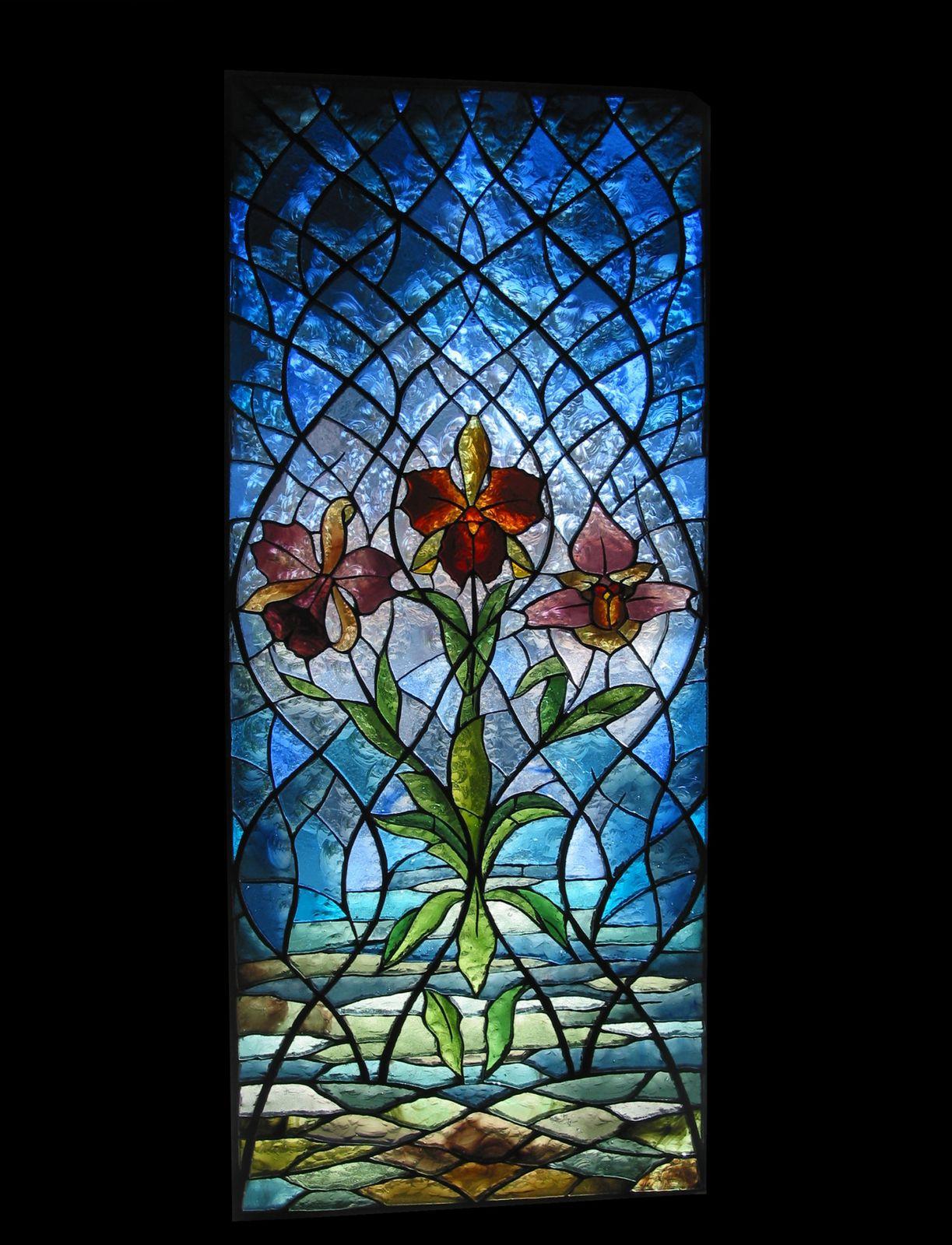 Oeuvres les possibilités d installation de vitraux Vitraux Deniau Atelier de création de
