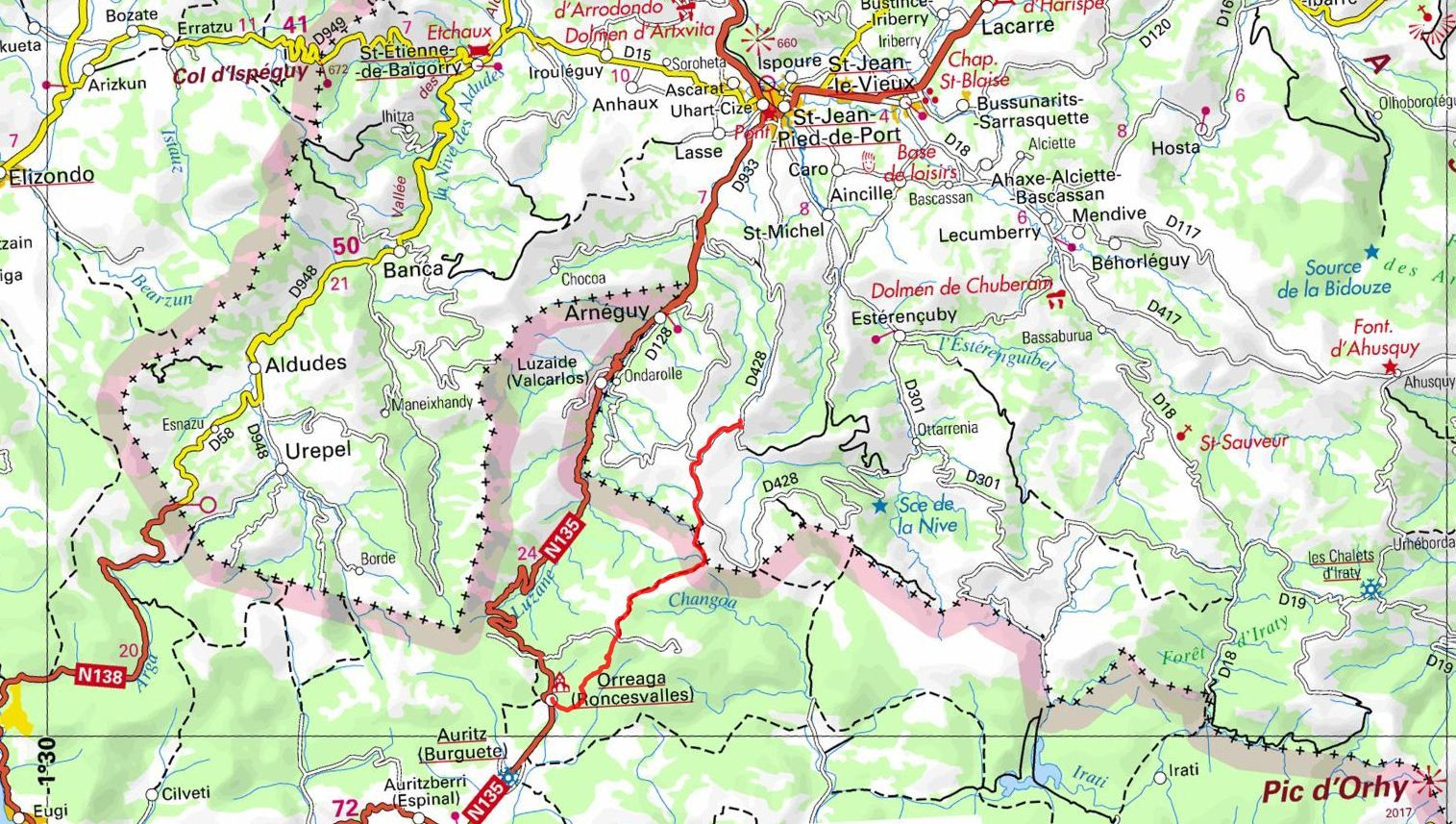 Roncevaux cool la retraite - Saint jean pied de port saint jacques de compostelle distance ...