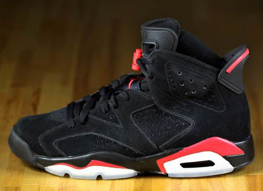 air jordan 6 black varsity red 01