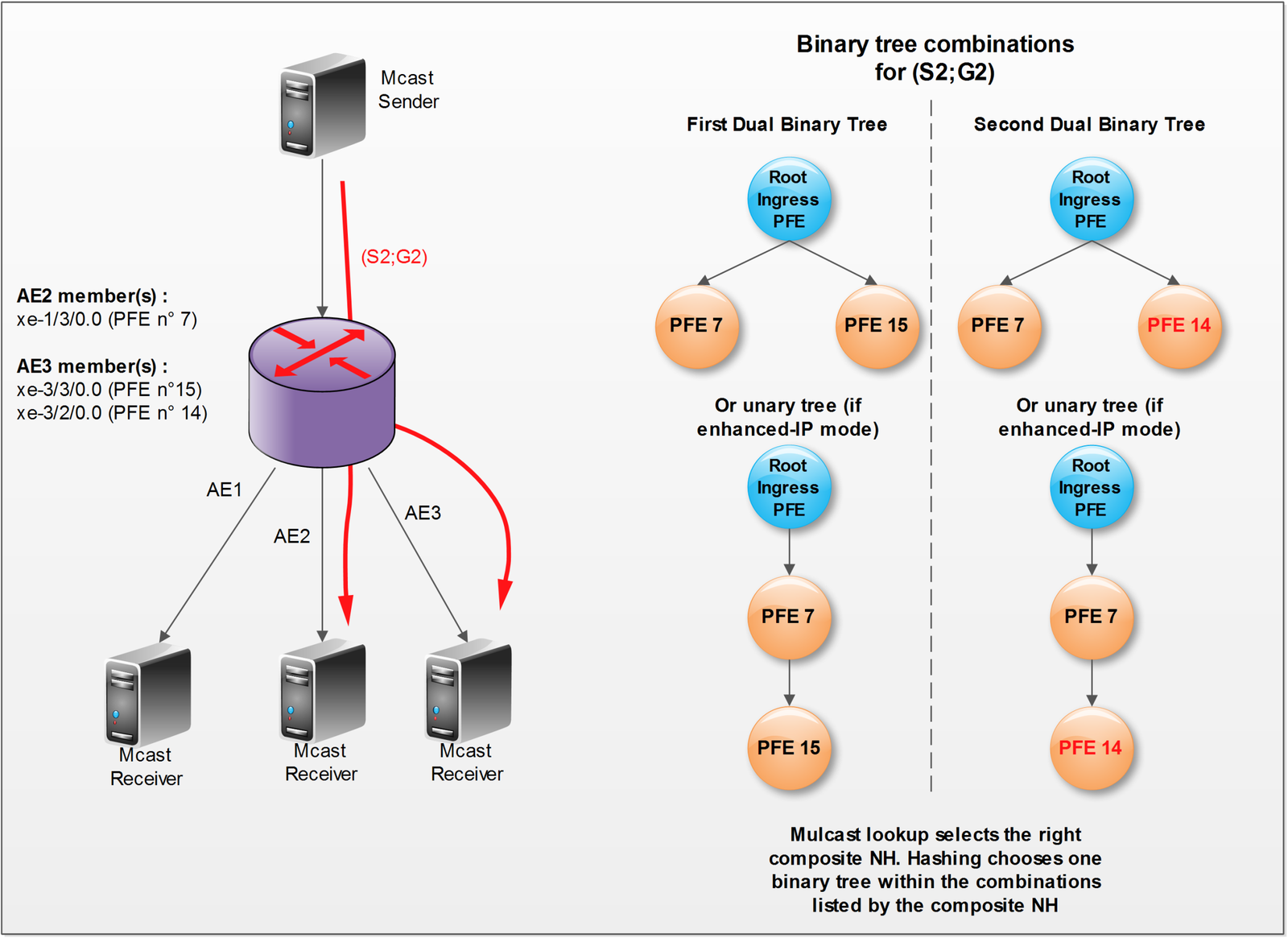 Multicast on TRIO - The blog of David Roy