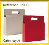 Vign mallette carton recycle ref 12008