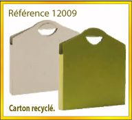 Vign mallette carton recycle ref 12009