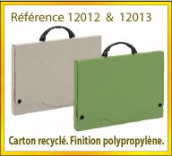 Vign mallette carton recycle ref 12012 12013