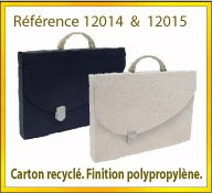 Vign mallette carton recycle ref 12014 12015