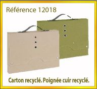 Vign mallette carton recycle ref 12018