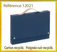 Vign mallette carton recycle ref 12021
