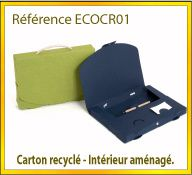 Vign mallette carton recycle ref ECOCR01