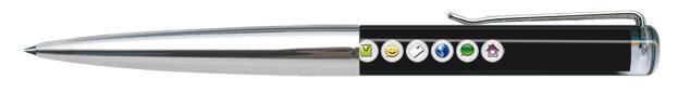 Exemples de flotteurs réalisés pour les stylos avec liquide. Fabrication européenne.