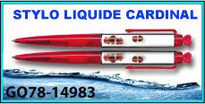 STYLOS LIQUIDE CARDINAL