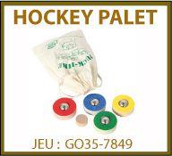 vign jeu hockey palet GO35-7849
