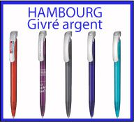 STYLOS HAMBOURG Givre argen