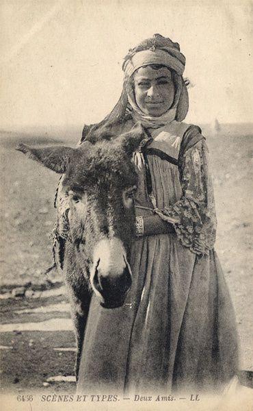 bedouine-et-âne