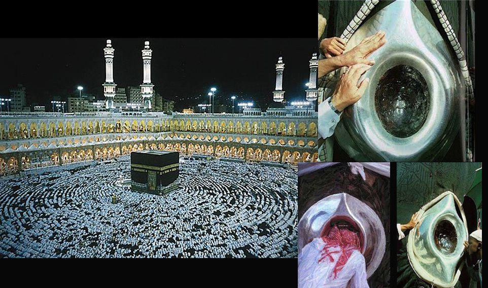 Pourquoi la kaaba est noire la r ponse est sur for L interieur de la kaaba