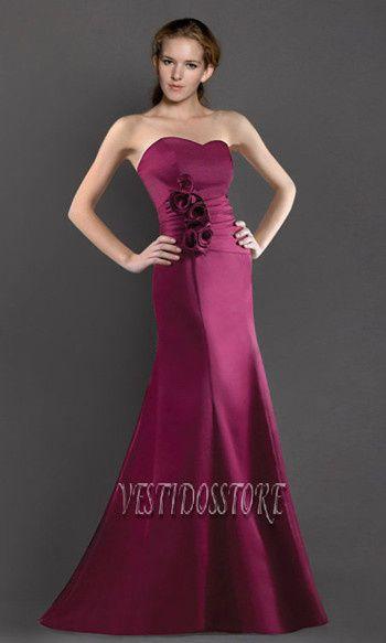 vestidos de damas corte sirena - vestidosventa