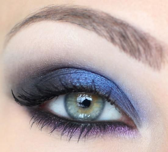 maquillage yeux verts blog