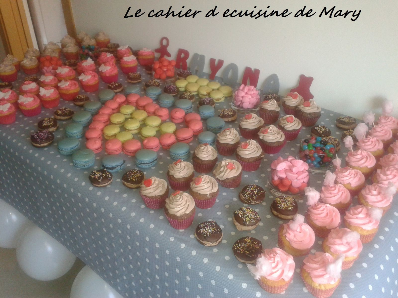 gateaux pour une baby shower le cahier de cuisine de mary. Black Bedroom Furniture Sets. Home Design Ideas