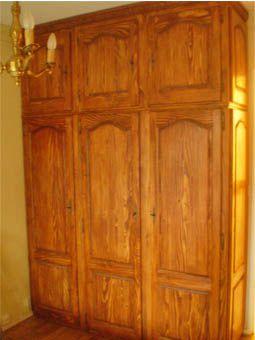 Placard armarbois mobilier bois sur mesure for Porte de placard bois