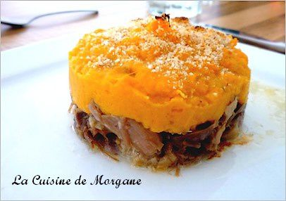 parmentier de canard la pur e de patates douces la cuisine de morgane. Black Bedroom Furniture Sets. Home Design Ideas