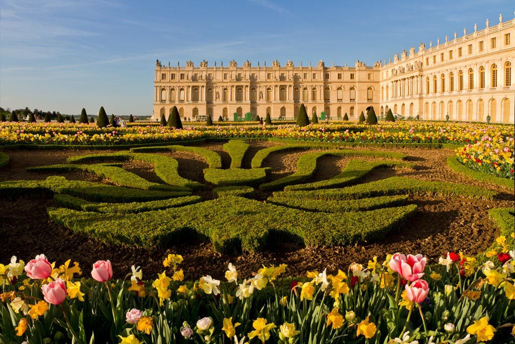 Versailles pass for Jardin de versalles