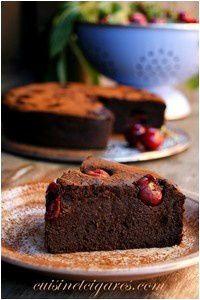 Gâteau Choco lentilles Cerises Solo 1
