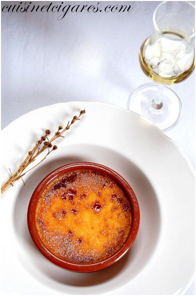 Crème Brûlée au Génépi Solo