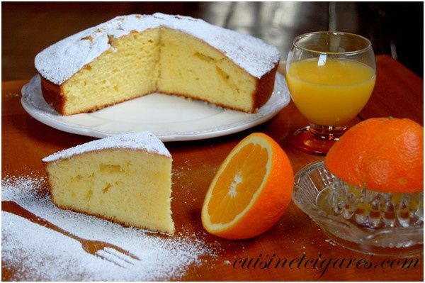 Gâteau à l'Orange Solo 1
