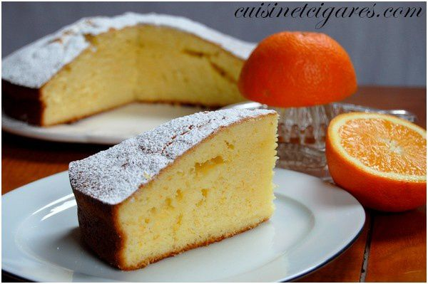 Gâteau à l'Orange Trio 10
