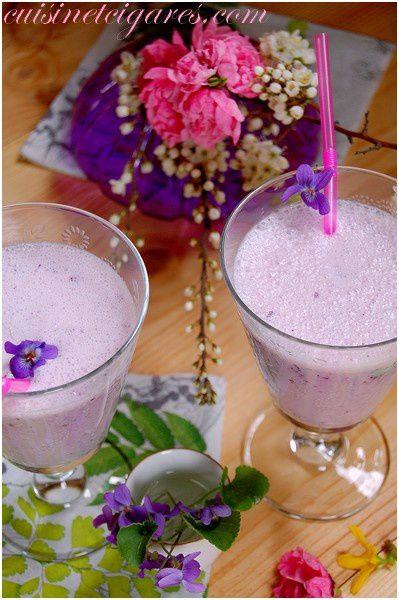 Smoothie Myrtilles Violettes Solo