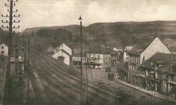 Cartes postales sur le chemin de fer en Auvergne