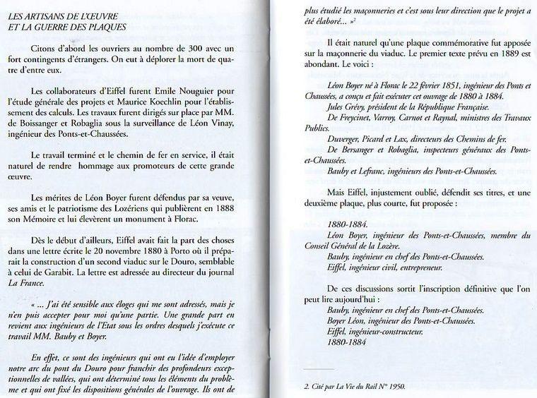 Livret de quelques pages sur l'histoire du viaduc de Garabit dont l'auteur se nomme....Antoine TRIN...!!!!