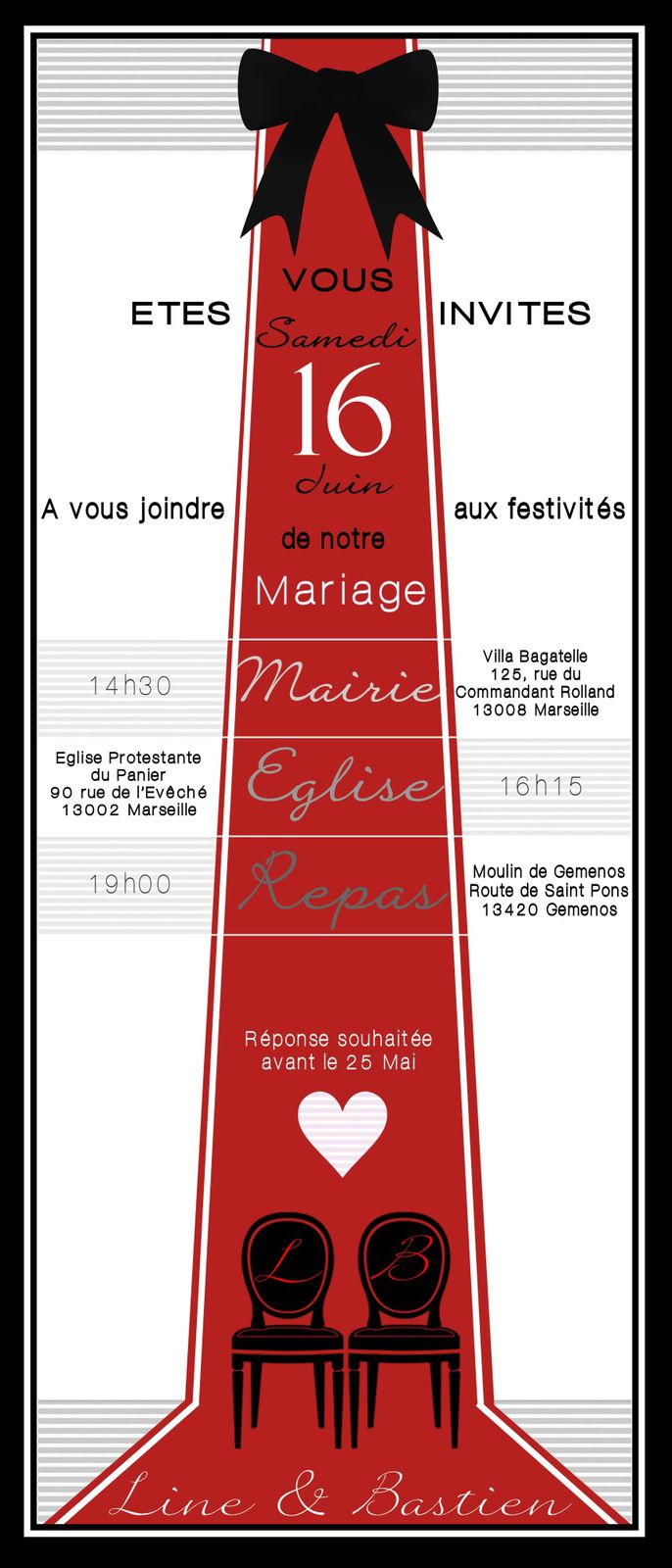 mariage fiancailles cr ation graphique illustration carterie. Black Bedroom Furniture Sets. Home Design Ideas