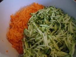 salade courgettes carottes au fromage blanc