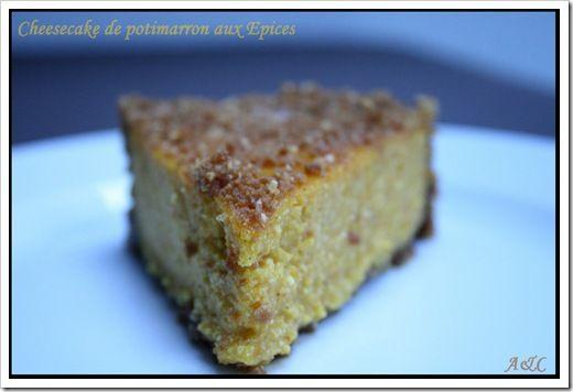 Cheesecake au potimarron et aux épices 1
