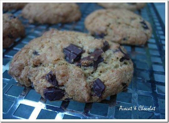 Cookies croustillants coco choco (2)