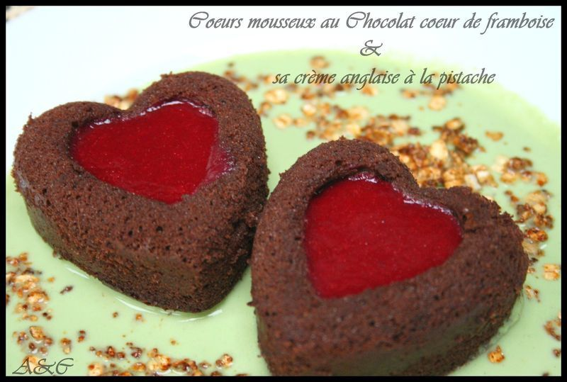 Mini gateau saint valentin