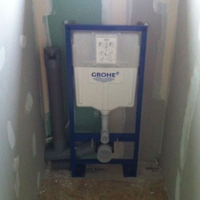 Installation Wc Suspendu Grohe