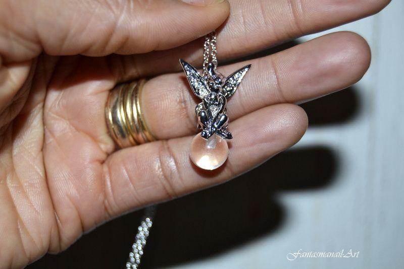 Mes cadeaux de no l le blog de fantasma nail art - Fee clochette assise ...