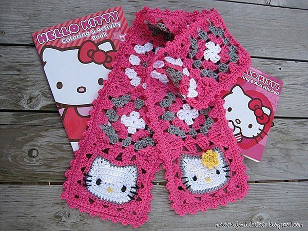 echarpe hello kitty