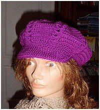 Casquette violette