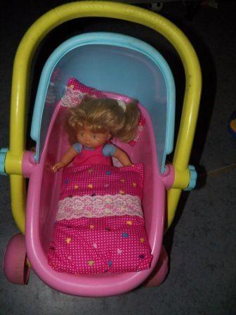 couverture et oreiller poupée