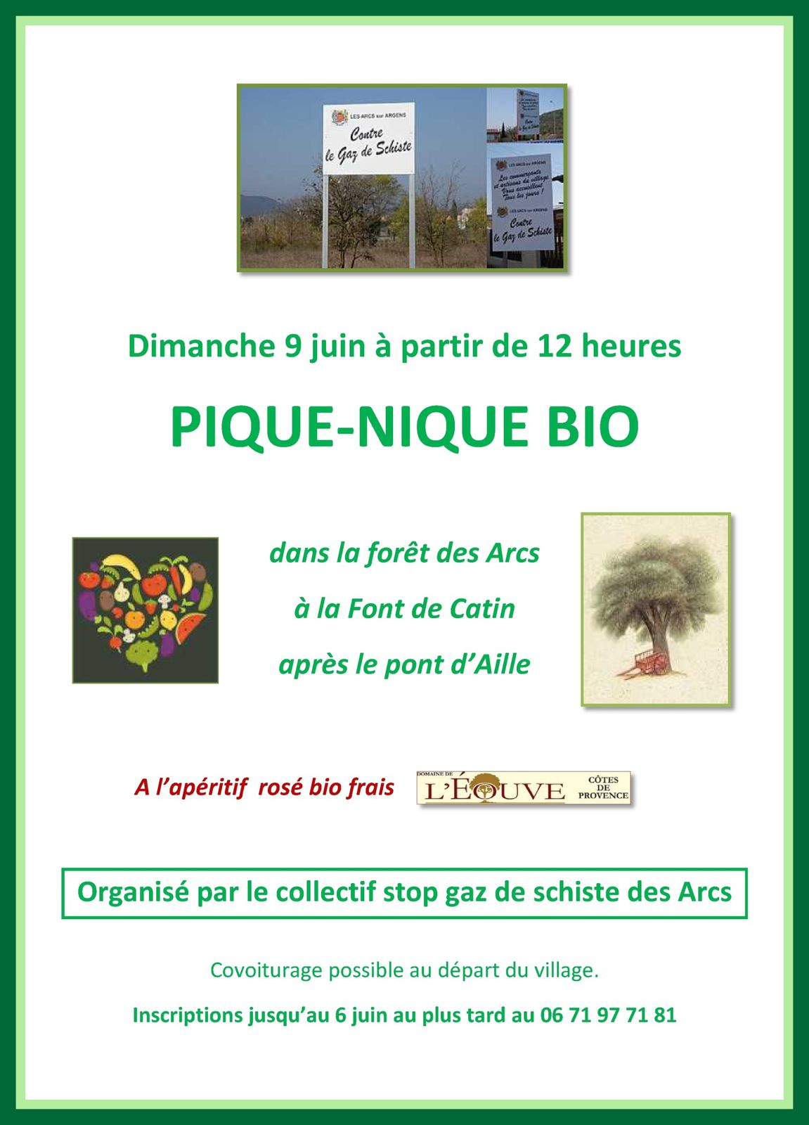 affiche collectif Les Arcs