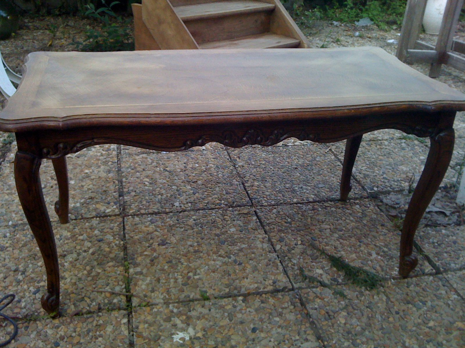 Table basse repeinte finest table basse avec lack with - Table basse repeinte ...