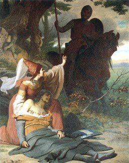 Gawain-meets-a-wounded-knight-in-this-painting-from-Ludwig-.jpg