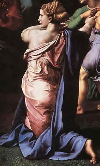 Portrait présumé de Giulia Farnèse (la Transfiguration d