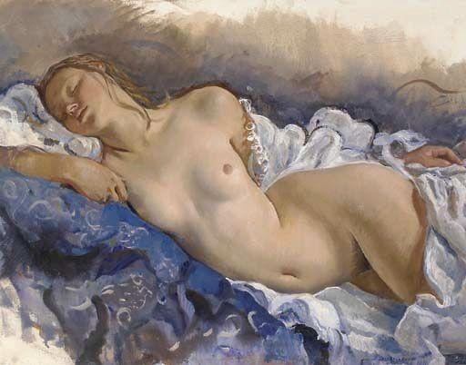 zinaida serebriakova sleepingnude