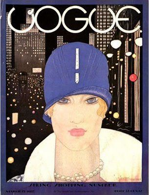 Lee on the cover of Vogue - March 1927