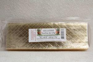 cm018f feuilles de gelatine