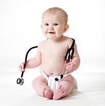 bébé pédiatre