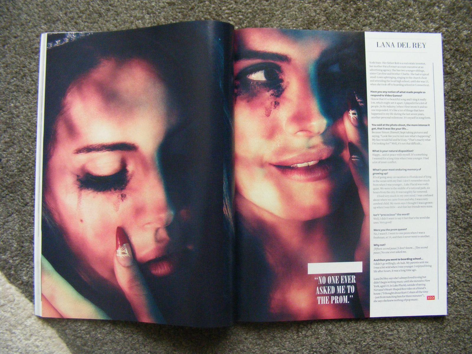 Simone Emmett pour Q Magazine