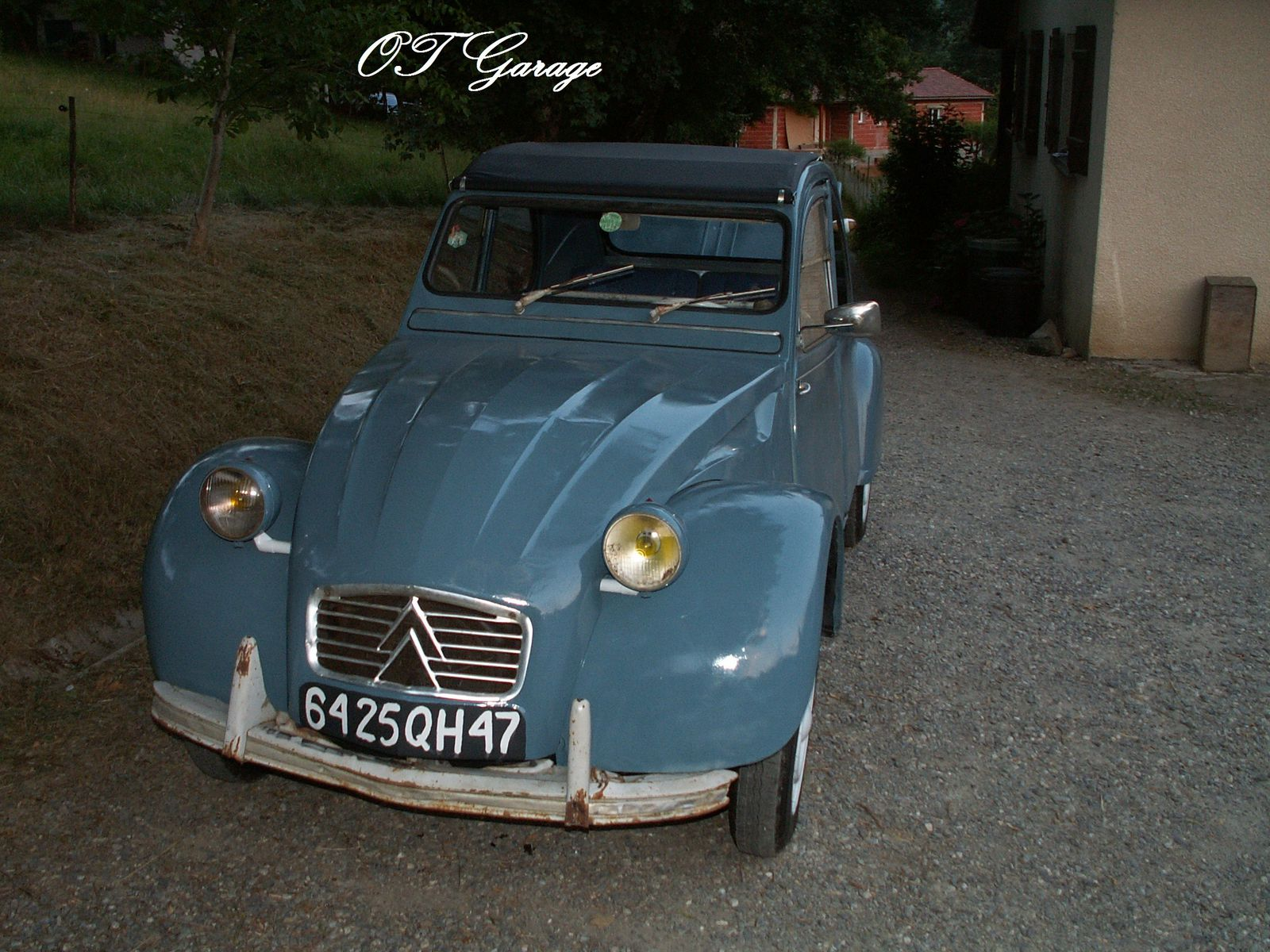 album restauration citroen 2cv az 1962 old timer garage. Black Bedroom Furniture Sets. Home Design Ideas